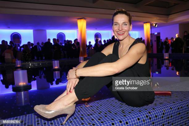 Tanja Wedhorn during the ARD advent dinner hosted by the program director of the tv station Erstes Deutsches Fernsehen at Hotel Bayerischer Hof on...