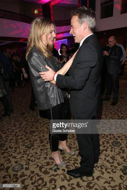Tanja Wedhorn Marco Girnth during the Movie Meets Media 'MMM' event on the occasion of the 68th Berlinale International Film Festival at Hotel Adlon...