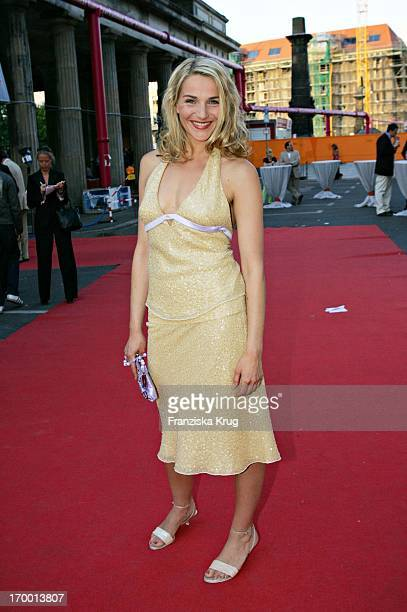Tanja Wedhorn On The Zdf summer festival on the Museum Island in Berlin 290605