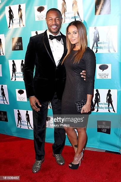 Tank and Zena Foster arrive at Laura Govan's Birthday Party by NBA Star Gilbert Arenas on September 21 2013 in Beverly Hills California