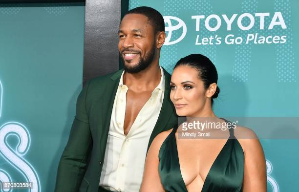 Tank and Zena Foster attend the 2017 Soul Train Music Awards at the Orleans Arena on November 5 2017 in Las Vegas Nevada