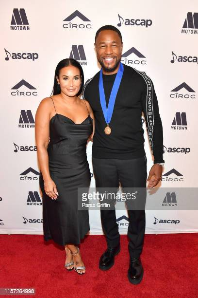 Tank and Zena Foster attend the 2019 ASCAP Rhythm Soul Music Awards at Regent Beverly Wilshire Hotel on June 20 2019 in Beverly Hills California