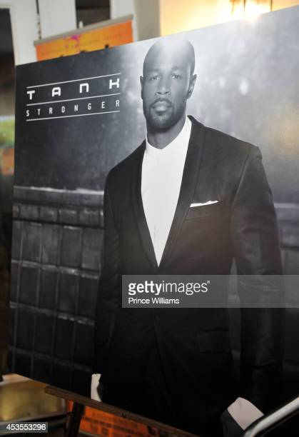 Tank attends ATL live on the Park at Park Tavern on August 12, 2014 in Atlanta, Georgia.