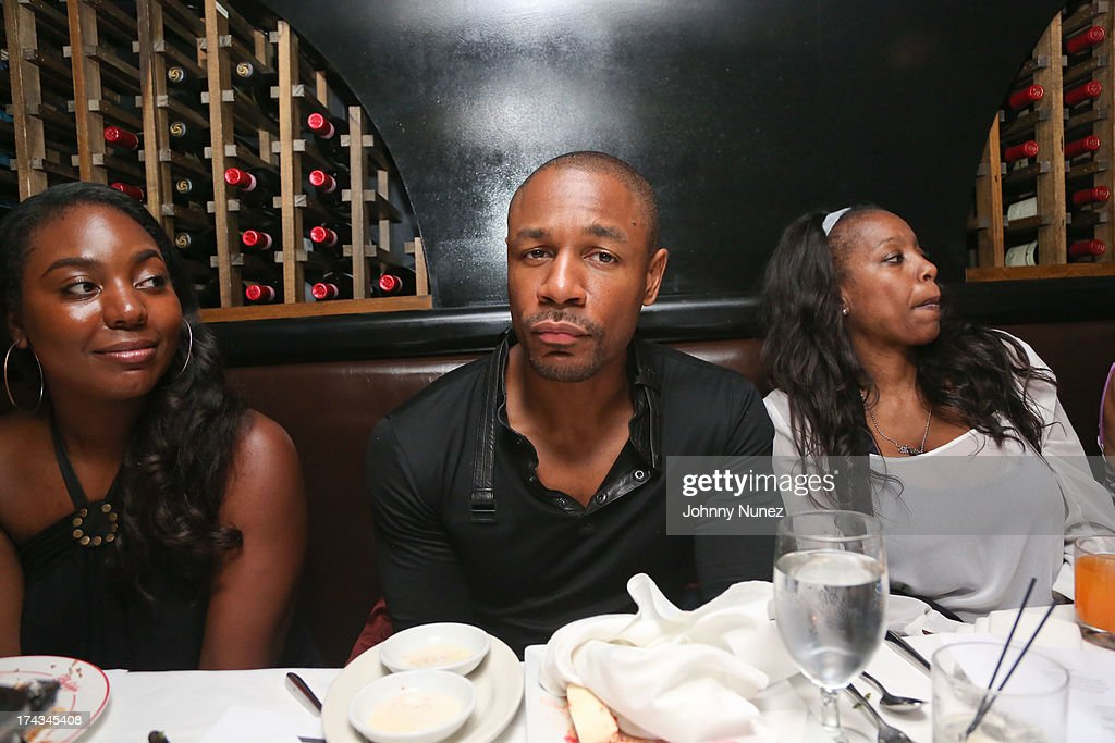 Tank (C) attends TGT's '3 Kings' Listening & Intimate Dinner at Philippe Restaurant on July 23, 2013 in New York City.