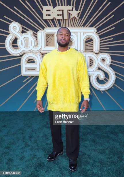 Tank attends the 2019 Soul Train Awards presented by BET at the Orleans Arena on November 17 2019 in Las Vegas Nevada