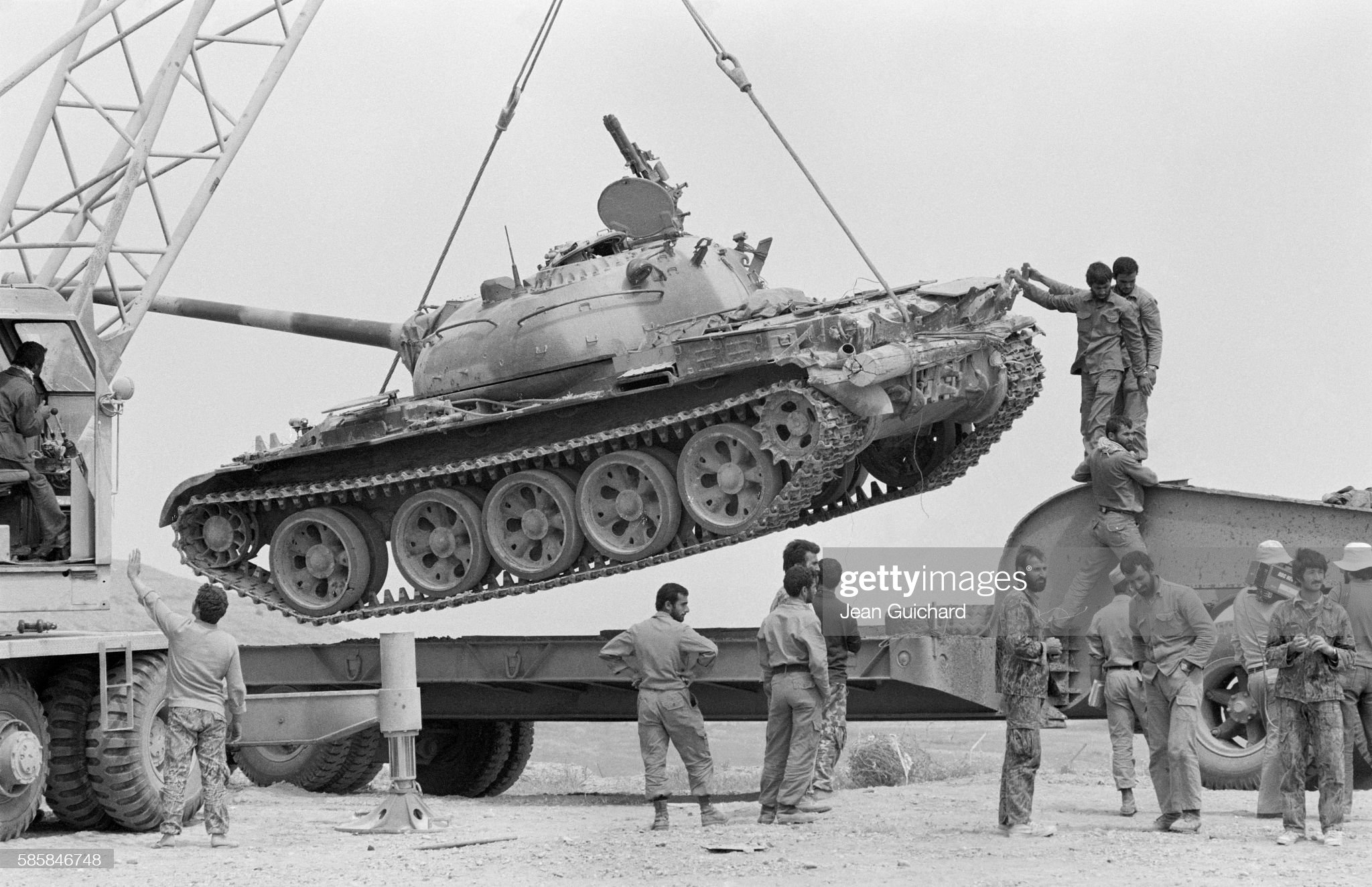 https://media.gettyimages.com/photos/tank-captured-from-iraqi-forces-during-the-1980-iraniraq-war-is-by-picture-id585846748?s=2048x2048