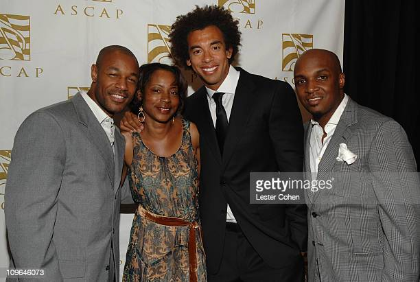 Tank Jeanie Weems of ASCAP Harvey Mason Jr of The Underdogs and Damon Thomas of The Underdogs