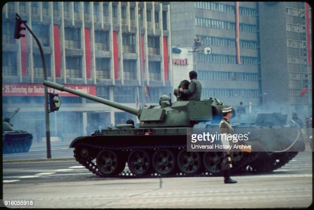 Tank May Day Parade East Berlin German Democratic Republic May 1 1974
