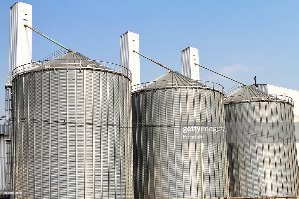 Tank storage industry big. : Stock Photo