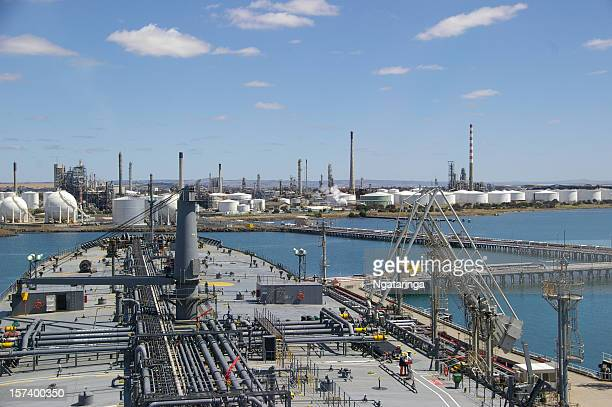 Tanker and refinery