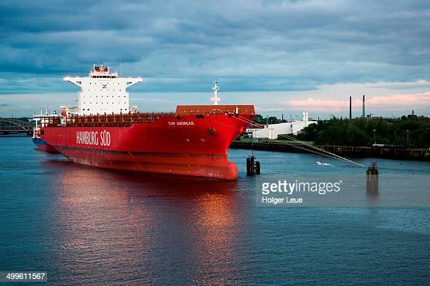 Tanker Cap Andreas  in harbor