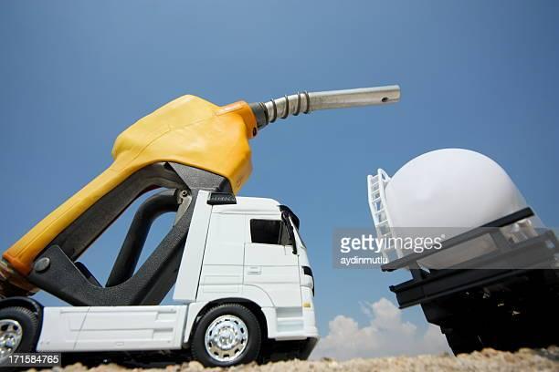 タンカートラック、燃料ポンプ