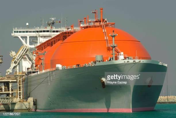 lng tankers - 液化天然ガス ストックフォトと画像