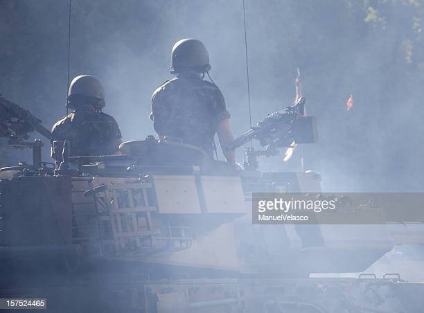 tank's crew - afghanistan stock pictures, royalty-free photos & images