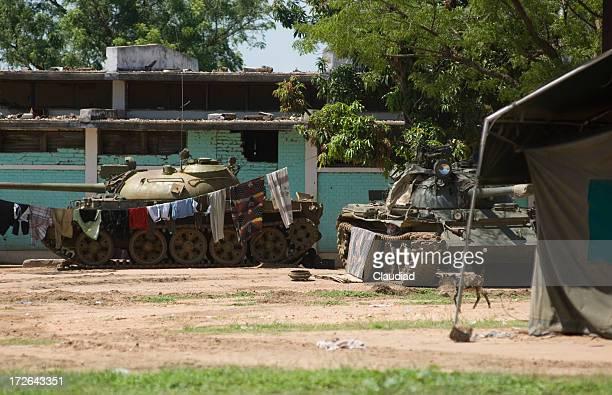 Tanks in Sudan