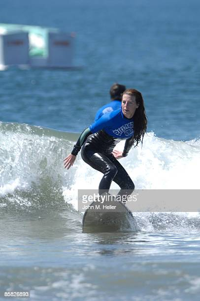 Tanna Frederick attends the 2009 Project Save Our Surf 1st Annual Surfathon and Oceana Awards at Ocean Park Beach on April 5 2009 in Santa Monica...