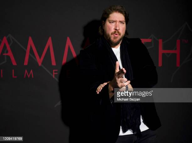 Tanner Beard arrives at the 3rd Annual Mammoth Film Festival Red Carpet Friday on February 28 2020 in Mammoth Lakes California