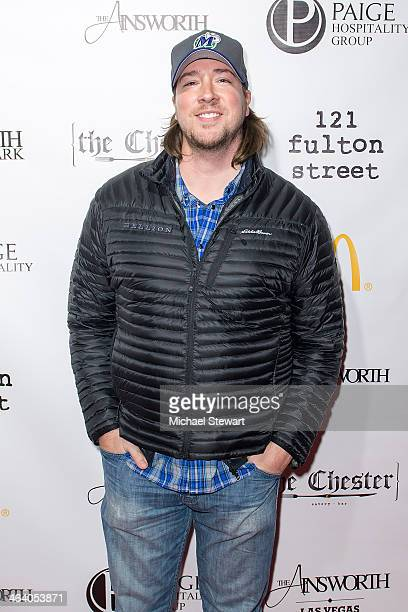 Tanner Beard attends Paige Hospitality Group's Third Annual Sundance Football Game Watch on January 19 2014 in Park City Utah