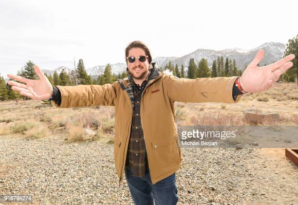 Tanner Beard poses for portrait giveback for The Artists Project at The Inaugural Mammoth Film Festival on February 10 2018 in Mammoth Lakes...