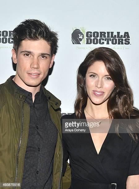 Tanner Novlan and Kayla Ewell attend Gorilla Love 2 at Hinoki The Bird on October 22 2015 in Los Angeles California