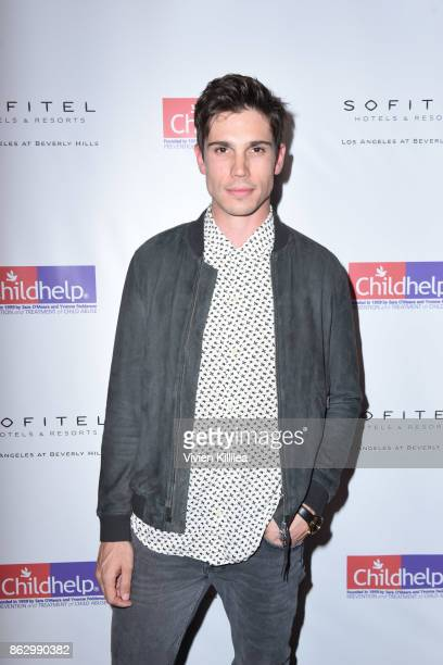 Tanner Novlan attends Childhelp Hollywood Heroes on October 18 2017 in Beverly Hills California