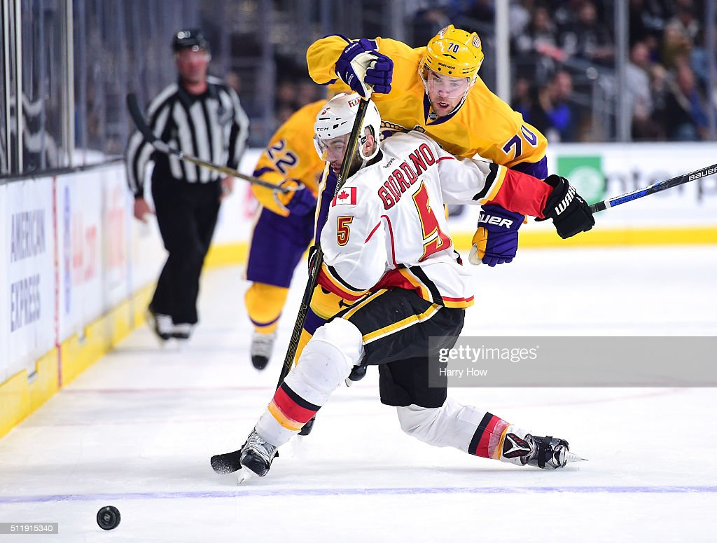 Calgary Flames v Los Angeles Kings