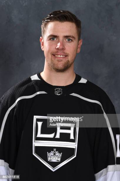 Tanner Pearson of the Los Angeles Kings poses for his official headshot for the 20172018 season on September 12 2017 at the Toyota Sports Center in...