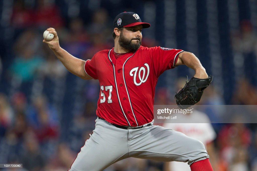 Washington Nationals v Philadelphia Phillies - Game Two : News Photo