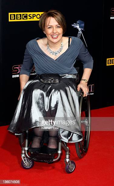 Tanni GreyThompson attends the awards ceremony for BBC Sports Personality of the Year 2011 at Media City UK on December 22 2011 in Manchester England