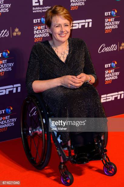 Tanni GreyThompson attends the BT Sport Industry Awards at Battersea Evolution on April 27 2017 in London England