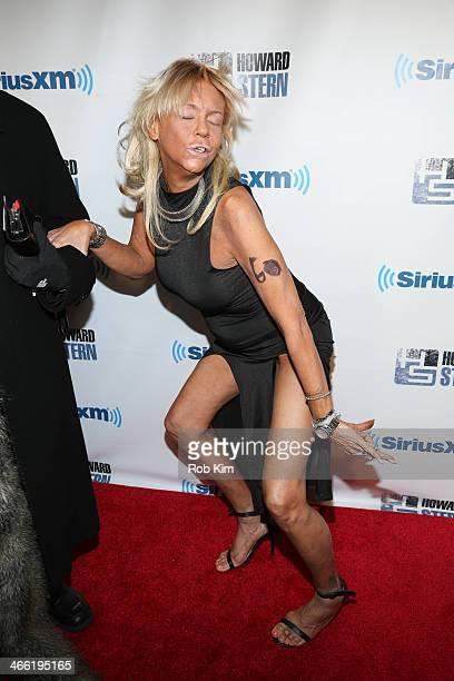 Tanning Mom Patricia Krentcil attends SiriusXM's Howard Stern Birthday Bash at Hammerstein Ballroom on January 31 2014 in New York City