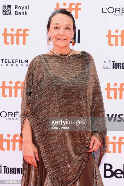 Tantoo Cardinal attends the premiere of 'Hold The Dark' during the 2018 Toronto International Film Festival at Princess of Wales Theatre on September...