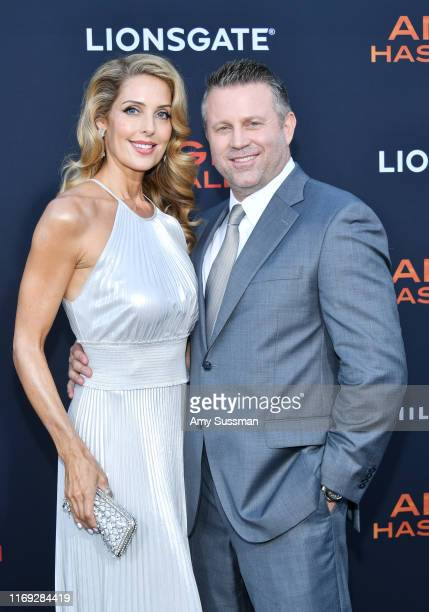 Tanya Ballinger and Ric Roman Waugh attend the LA Premiere of Lionsgate's Angel Has Fallen at Regency Village Theatre at Regency Village Theatre on...