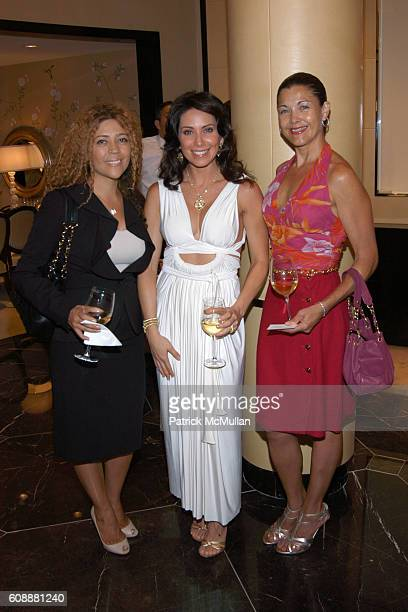 Tanya Barber Laura Posada and Barbara Phillips attend JUDITH RIPKA Hosts Event to Benefit the JORGE POSADA FOUNDATION at Judith Ripka Flagship Store...