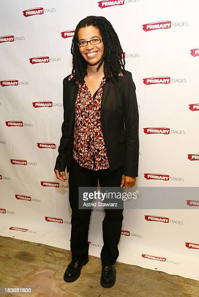 Tanya Barfield attends the 'Bronx Bombers' opening night after Party at West Bank Cafe on October 8 2013 in New York City