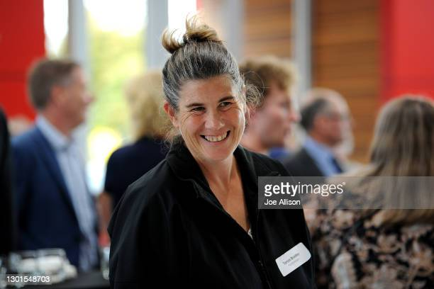 Tanya Bradley looks on during the Paralympics New Zealand Celebration Project Community Event at Cooke Howlison Toyota on February 11, 2021 in...