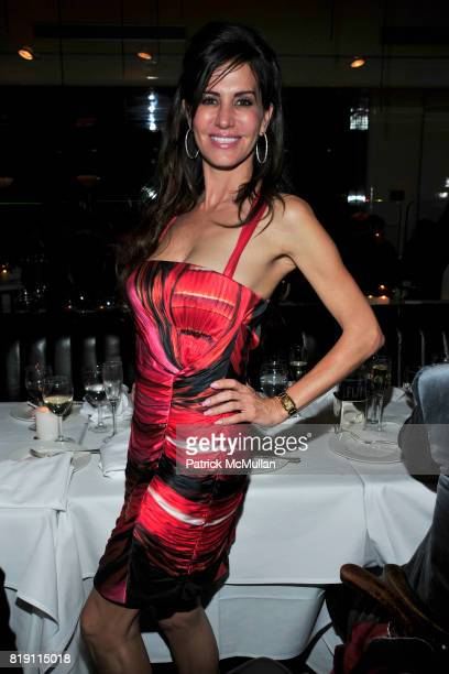 Tanya Brandes attends LARRY GAGOSIAN hosts a Private Dinner for the ANDREAS GURSKY Opening Exhibition at GAGOSIAN GALLERY at Mr Chow on March 4 2010...