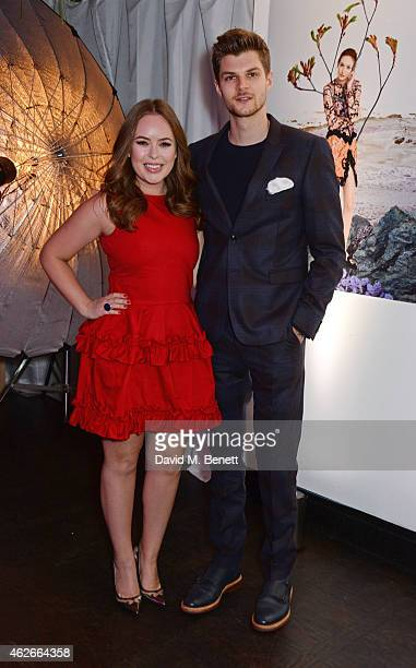 Tanya Burr and Jim Chapman attend the InStyle and EE Rising Star Party in association with Lancome Karen Millen and Sky Living at The Ace Hotel on...