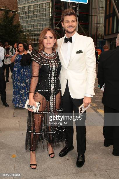 Tanya Burr and Jim Chapman seen attending GQ Men of the Year Awards at Tate Modern on September 5 2018 in London England
