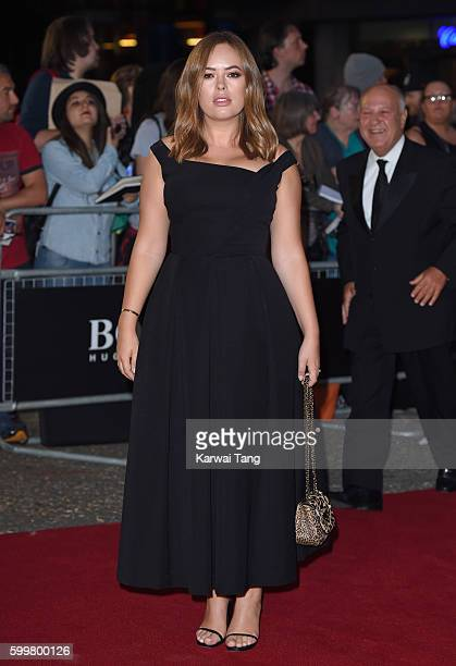 Tanya Burr arrives for the GQ Men Of The Year Awards 2016 at Tate Modern on September 6 2016 in London England