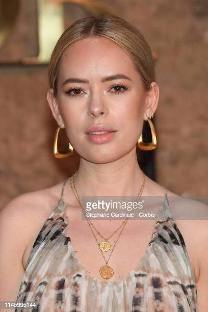 Tanya Burr attends the Christian Dior Couture S/S20 Cruise Collection on April 29 2019 in Marrakech Morocco