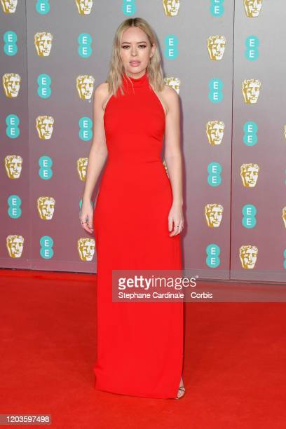 Tanya Burr attends the EE British Academy Film Awards 2020 at Royal Albert Hall on February 02 2020 in London England