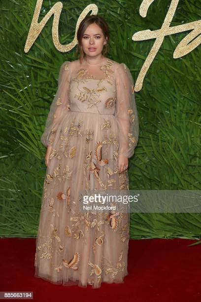 Tanya Burr attends The Fashion Awards 2017 in partnership with Swarovski at Royal Albert Hall on December 4 2017 in London England