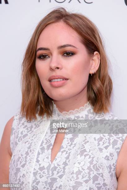 Tanya Burr attends the Glamour Women of The Year awards 2017 at Berkeley Square Gardens on June 6 2017 in London England