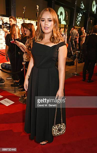 Tanya Burr attends the GQ Men Of The Year Awards 2016 at the Tate Modern on September 6 2016 in London England