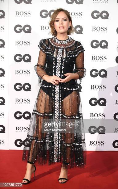 Tanya Burr attends the GQ Men of the Year awards at Tate Modern on September 5 2018 in London England