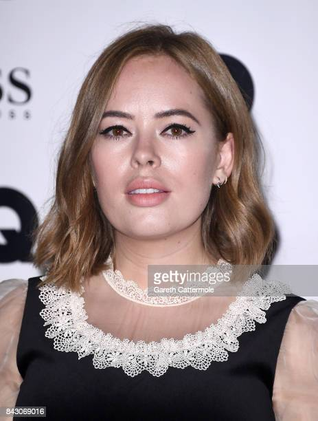 Tanya Burr attends the GQ Men Of The Year Awards at the Tate Modern on September 5 2017 in London England