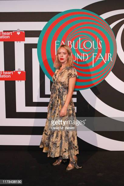 Tanya Burr attends the Naked Heart Foundation's Fund Fair hosted by Natalia Vodianova helping children with special needs on October 4 2019 in London...
