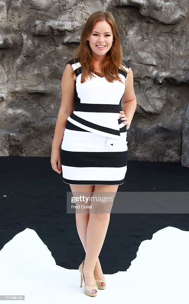 Tanya Burr attends the premiere of 'The Lone Ranger' at Odeon Leicester Square on July 21, 2013 in London, England.