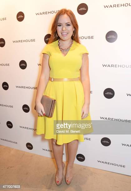 Tanya Burr attends the Warehouse Oxford Street Flagship Store Launch on March 6 2014 in London England